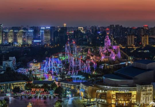 2019北京欢乐谷奇幻灯光节时间+门票+地点(附购票入口)