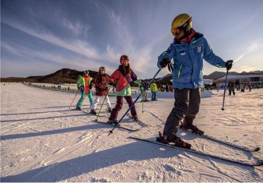 南山滑雪场,一个玩不够的京郊滑雪胜地