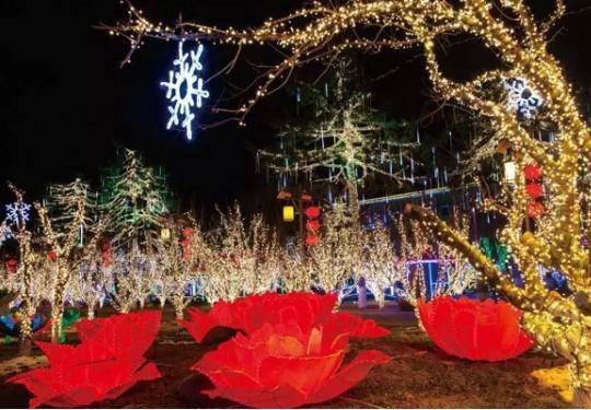 2020第34届龙庆峡冰灯艺术节元月中旬亮灯