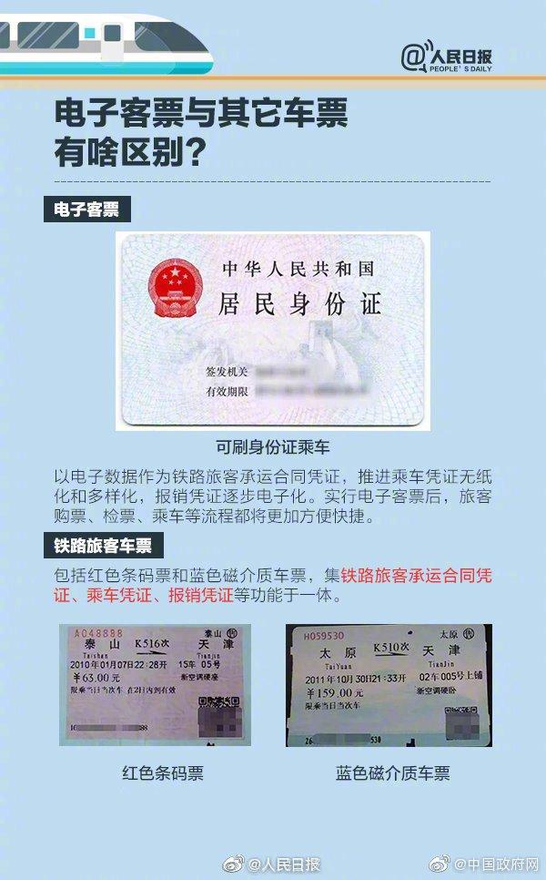 电子客票什么意思?怎么取票进站?怎么报销及退改签?(图解)