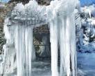 """北京古燕京八景""""虎峪輝金""""開放新景觀!冰瀑奇觀美輪美奐!"""