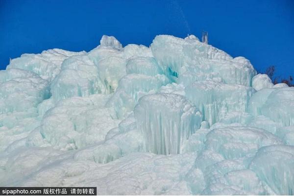 美爆了!京郊冰瀑奇观惊艳了整个冬天~[墙根网]