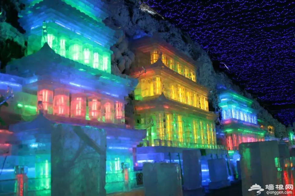 2020年龙庆峡冰灯制作现场,先睹为快[墙根网]