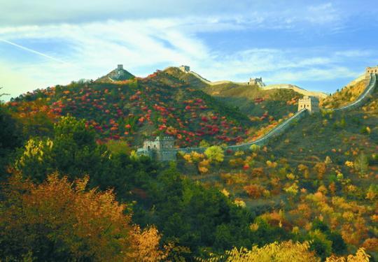 京城过年好去处司马台,登望京楼可看到北京城,周边还有诸多古城堡