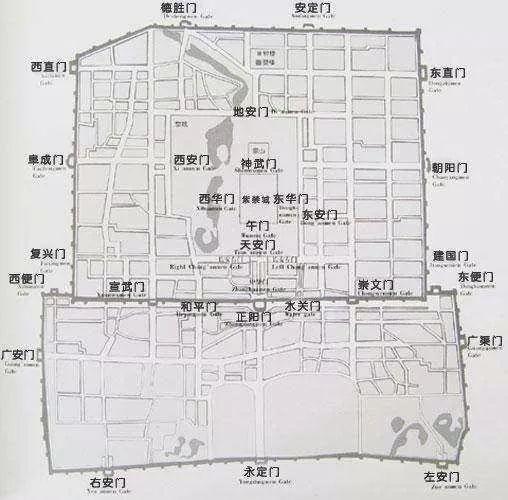北京内城西北缺角之谜,答案原来是这样[墙根网]