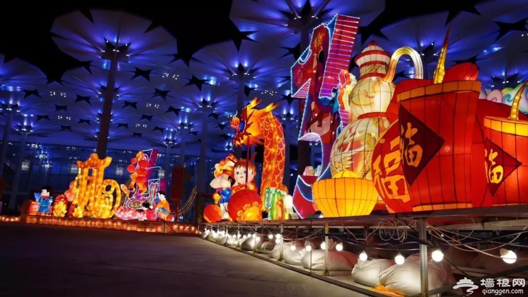 世园灯会,70000㎡!北京最美灯海就在这里了!万盏华灯绽放,开启一年好彩头~[墙根网]