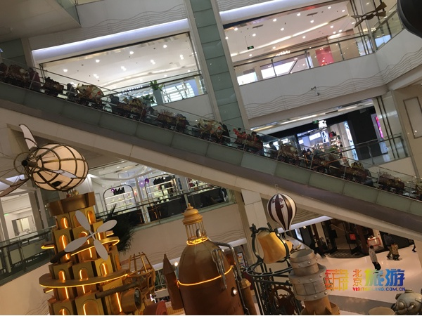 朝阳大悦城:时光礼物工场来啦