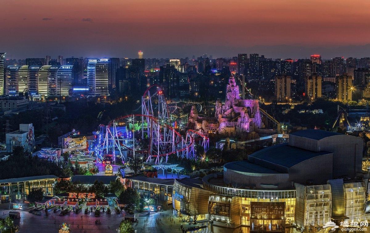 2020北京欢乐谷奇幻灯光节时间门票及活动详情[墙根网]