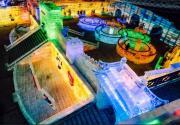 2020龙庆峡冰灯艺术节开始试营业