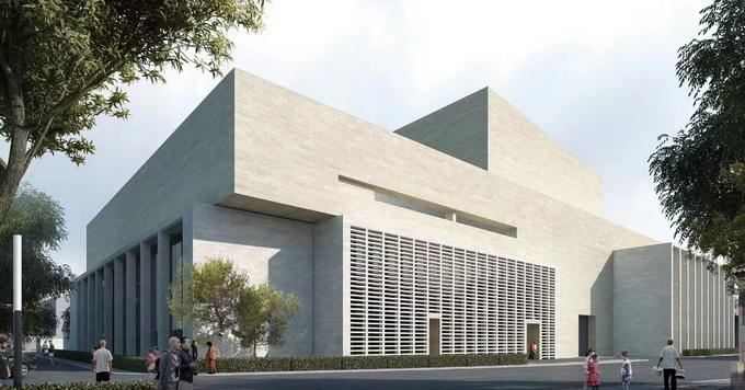 北京国际戏剧中心主体结构今日封顶,效果图抢先看[墙根网]