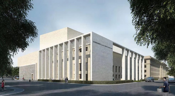 北京国际戏剧中心主体结构今日封顶,效果图抢先看