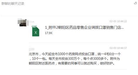 北京1000個藥房每天投放300萬個口罩?假的!