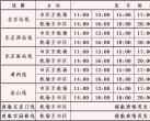 北京大兴机场巴士市区线路发车时间临时调整