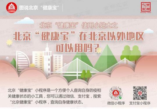"""北京""""健康宝""""使用小贴士之北京""""健康宝""""在北京以外地区可以用吗?"""