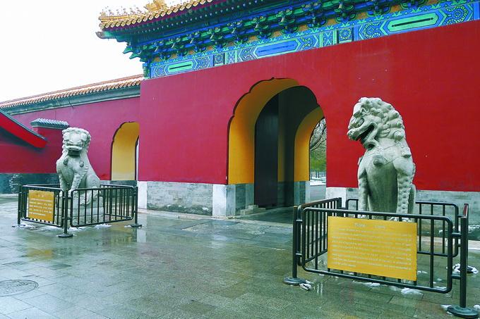 北京城里门前古狮独具特色,哪个最悠久?哪个最特殊?背后有不少故事[墙根网]