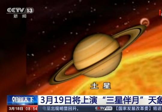 2020年3月19日三星伴月天象观赏指南(时间+地点+直播)