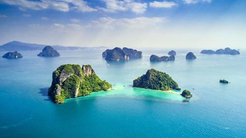 泰國四座避世海島!來到這里,才知道海水真正的顏色