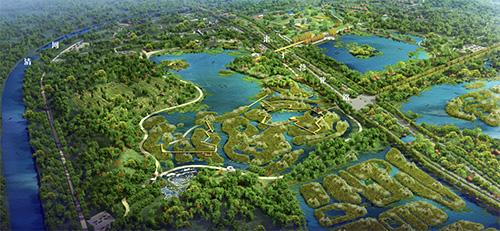"""温榆河公园示范区""""五一""""完工,带您""""打卡""""京城新美景"""