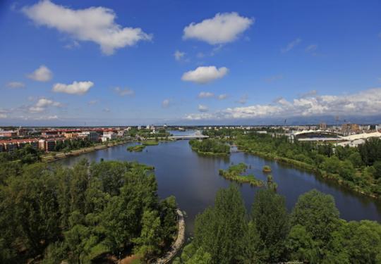 """白河堡水库开闸放水,""""18个昆明湖""""补进妫河和世园公园"""