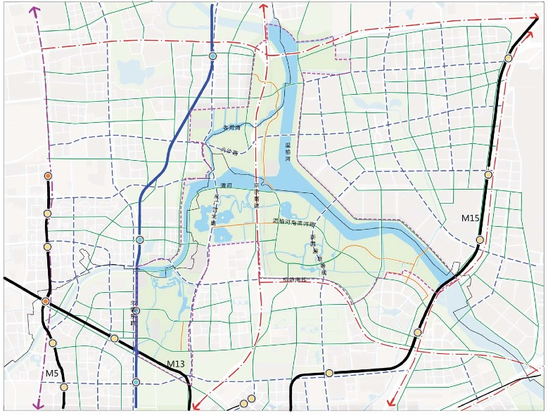 北京温榆河公园周边3条路将成景观大道,规划10条公交走廊[墙根网]
