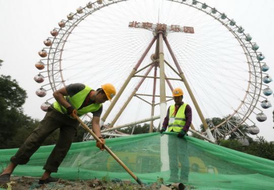 北京游乐园变身龙潭中湖公园,21个重大项目月底前集中开工