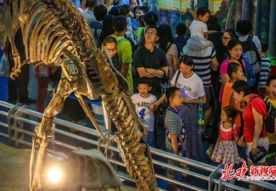 北京自然博物馆将启动夜间参观活动,8月20日开始预约