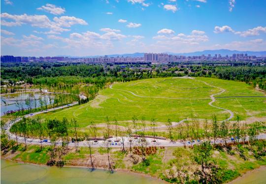 """比奥森大6倍!京城最大""""绿肺""""温榆河公园2平方公里示范区今开园"""