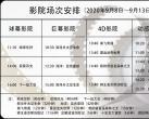 9月8日至9月13日中国科技馆影院排片时间表