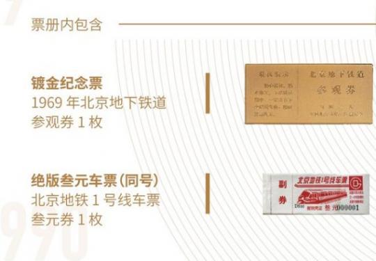 北京地铁50周年纪念票册购买指南(发行时间+预订价格+预买入口)