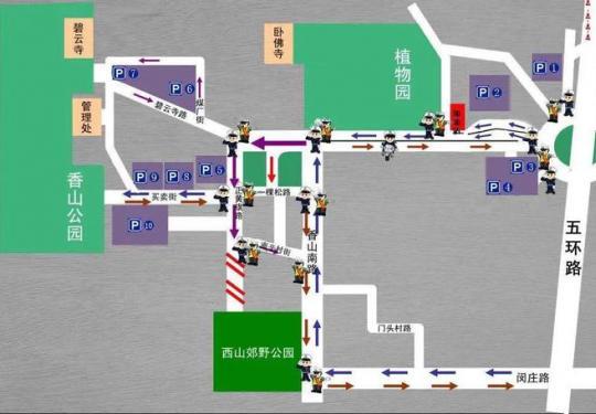 周末要去香山看红叶吗?出发前先看看这个↓