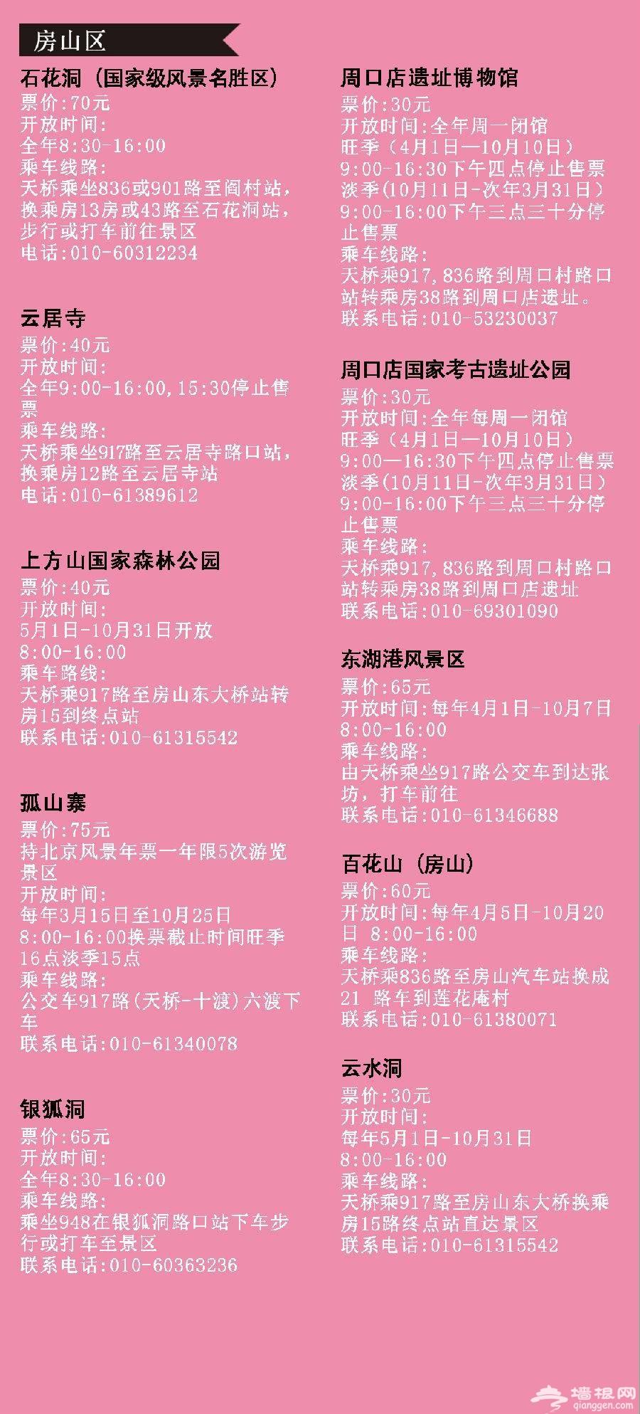 2021北京风景年票景点都有哪些?景点目录一览[墙根网]