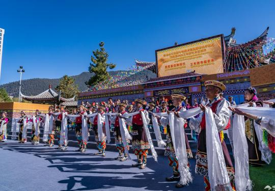 過年啦!林芝工布新年響箭文化旅游活動熱鬧非凡!