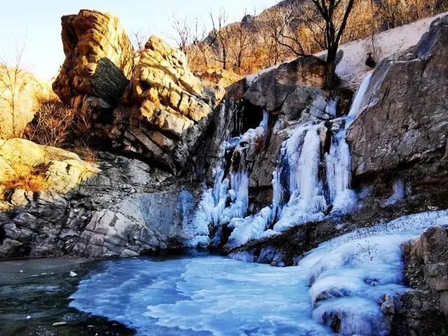 入冬美景真不少!京郊这些美美的冰瀑,每一个都超想去![墙根网]