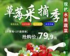 【大兴区】79.9元抢购!绿林佳采摘园2斤蔬菜+2斤草莓,节假日通用