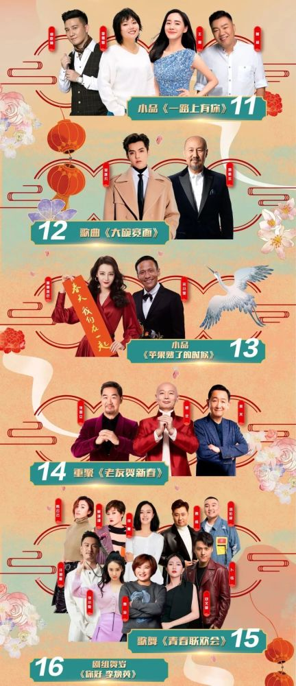 官宣:2021北京台春晚节目单来了!看看都有谁[墙根网]
